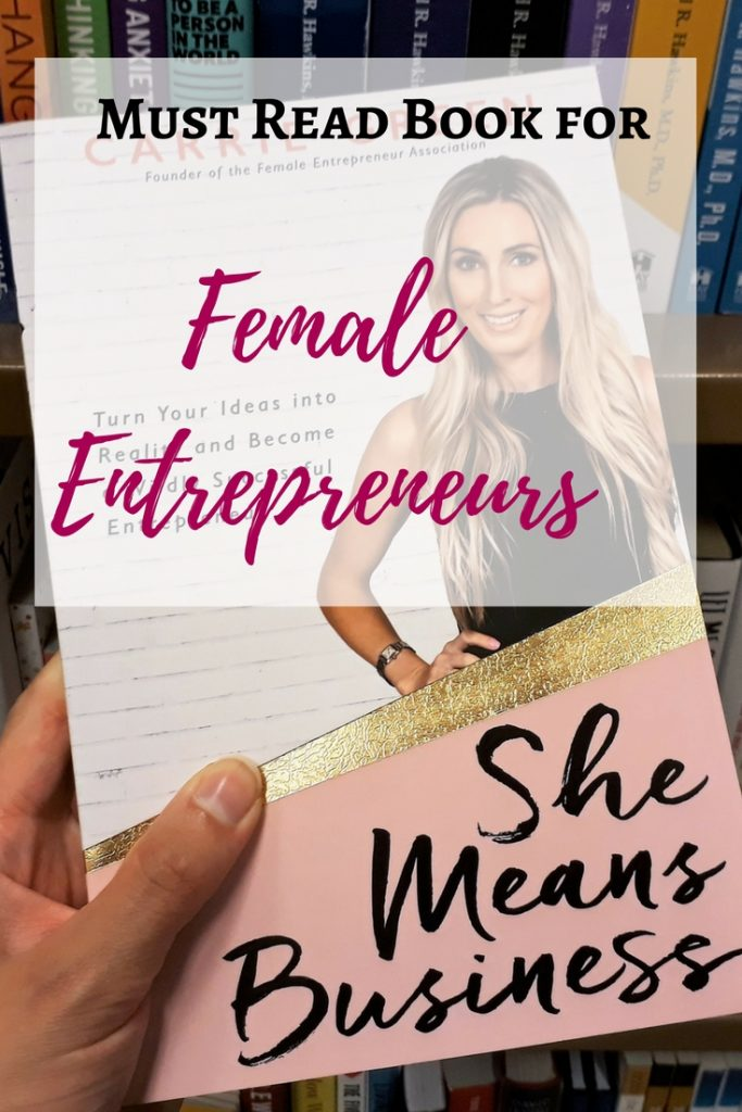 Are you a female entrepreneur? If so, you have to read She Means Business. I've written a review explaining why I enjoyed the book so much.