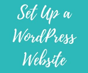 Set Up a WordPress Website