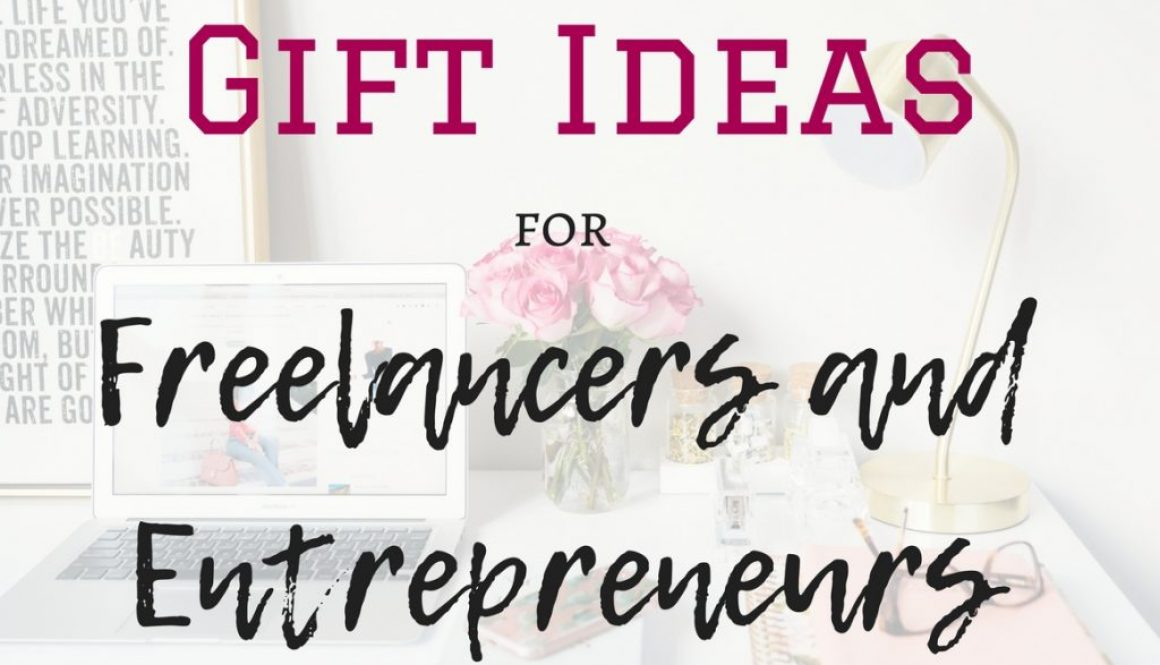 Gift ideas for entrepreneurs