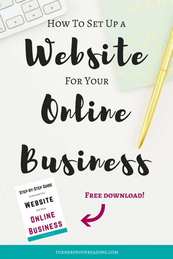Think you don't need a website for your freelance business? Think again! If you're not sure where to start, follow my step-by-step tutorial on how to set up a website. #startablog #website