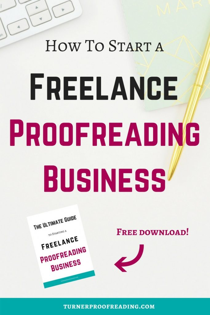 Want to be a freelance proofreader and work from home? Follow these steps and make it happen! Set up your own freelance proofreading business and work online.