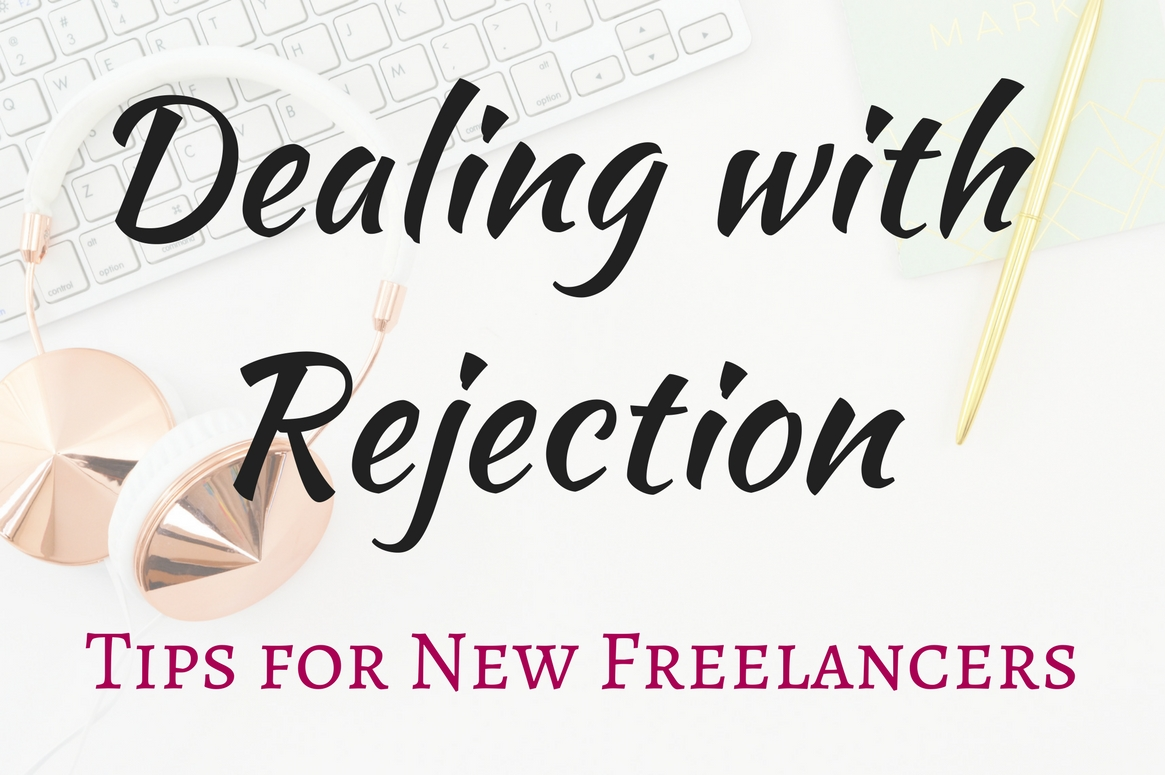 It's inevitable. You're not going to get every job that you apply for. Dwelling on the rejections will make you feel bad about yourself. Don't let this happen! Here are some tips to help you deal with rejection as a new freelancer!