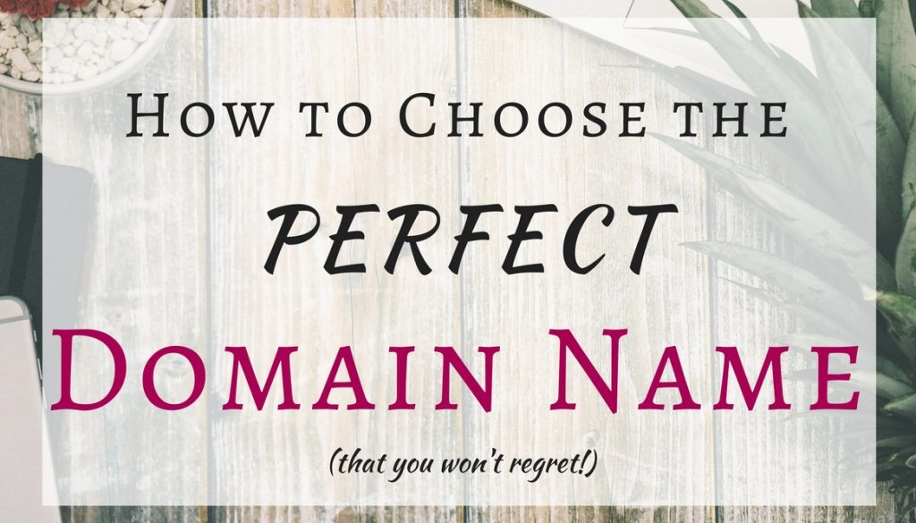 Are you ready to create your own website or blog, but you're struggling to name it? Read these tips on how to choose the perfect domain name!