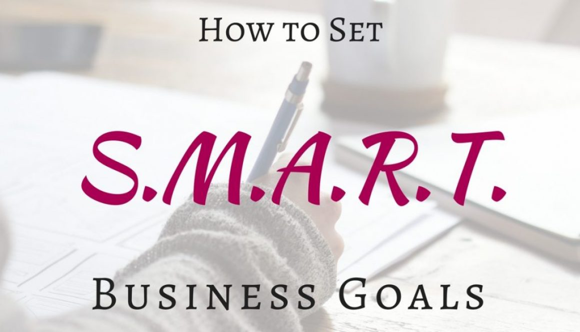 Ready to have your best business year yet? Not sure how to make that happen? You need to set some SMART goals! Check out this article to find out what they are.