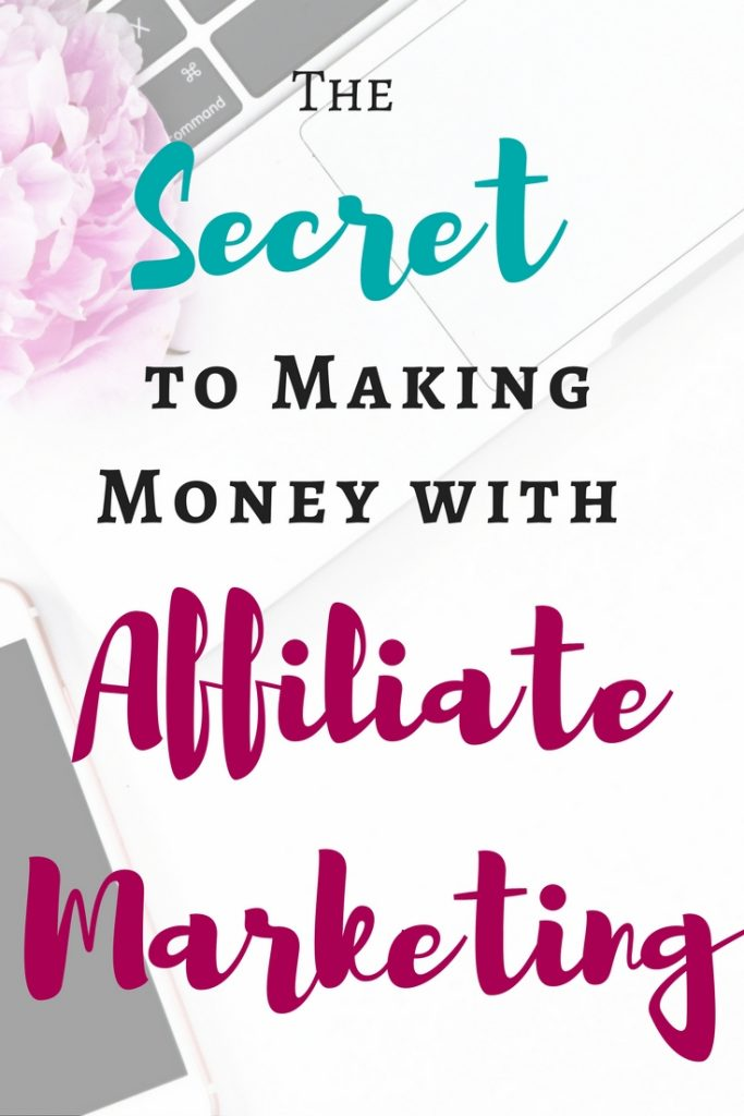 Time to stop messing around and start earning money with your blog! Learn how Michelle makes over $50,000 a MONTH through affiliate marketing!