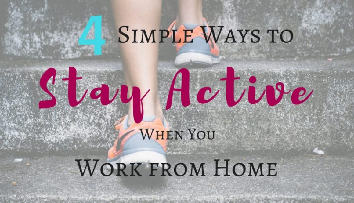 Staying active when you work from home is a challenge many freelancers face. Your activity levels decrease. Your daily commute gets a lot shorter, and you don't have as many excuses to go outside. You need to make a conscious decision to stay healthy when you work from home. Check out my tips on how to stay active!