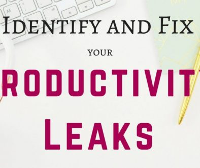 Don't have enough time in the day to get everything done? Feel like you're spending every spare minute working, but you're still not achieving your goals? Figure out how to maximize your time by identifying your productivity leaks so you can eliminate them! Time to get rid of the time wasters!
