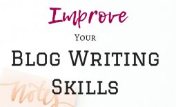 Thought you'd done all the hard work when you set up your blog? That was just the beginning. Now you need to write content that makes your readers want more! Blog writing skills not up to scratch? Luckily, improving your writing skills is easier than you think. Follow my tips and take your blog posts from hard-to-read to can't-stop-reading!