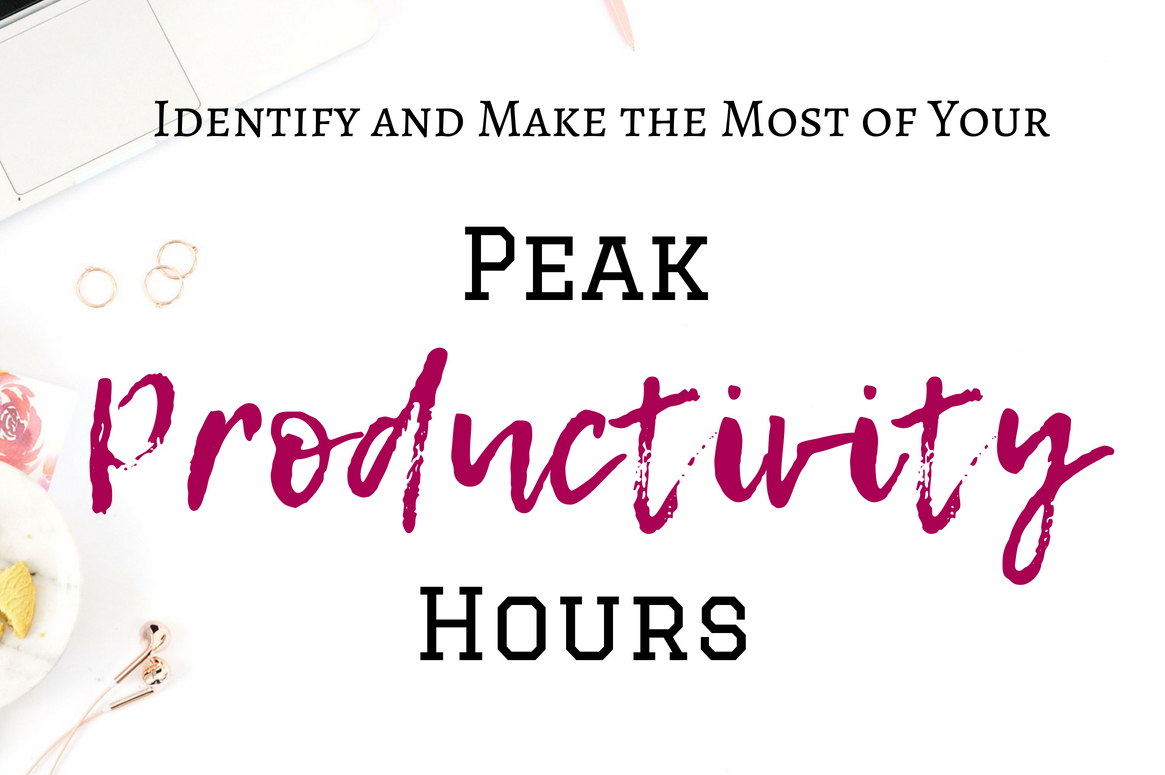 Want to be productive all the time? Unfortunately, it's just not possible. We only have a small window of productivityevery day. These are your peak productivity hours where you're the most alert and have the most energy. Find out what your productivity hours are and how to make the most of them! #productivity