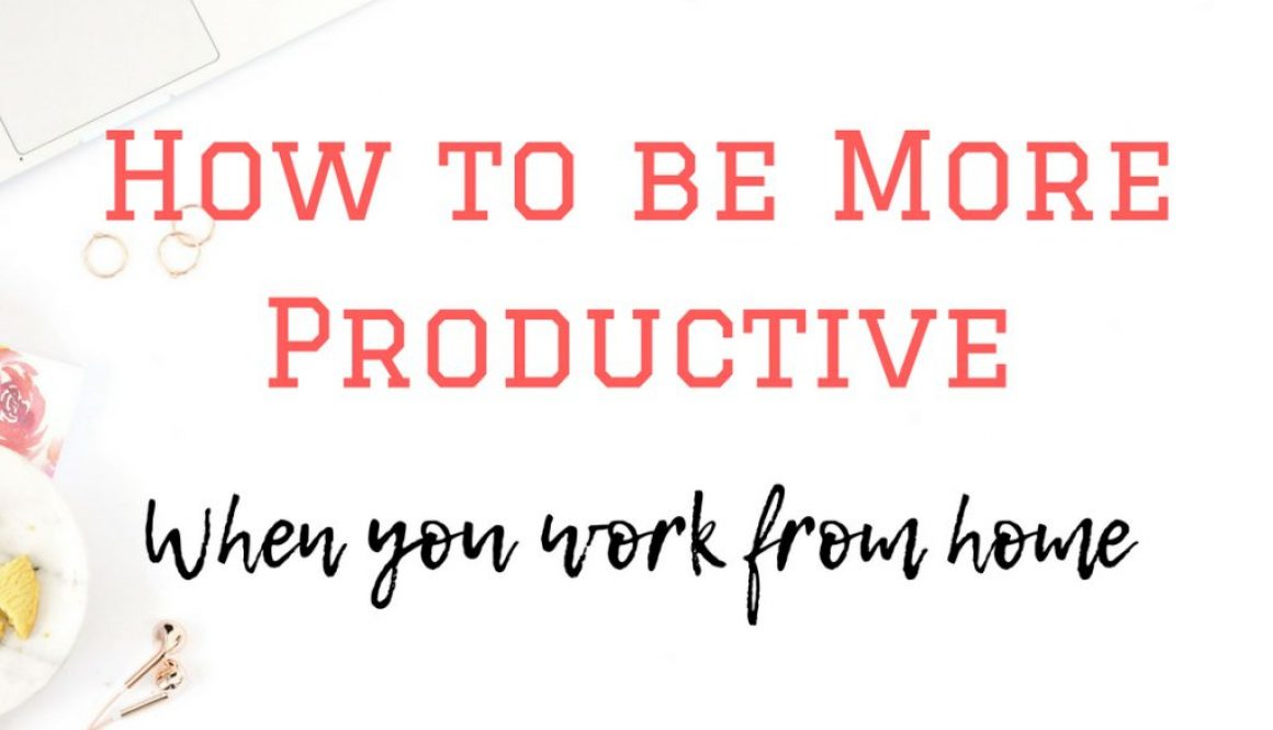 Whoever said working from home is easy wasn't quite being truthful. Being productive when you work from home requires motivation and focus. You can learn how to be more productive when you work from home using these 5 tips.