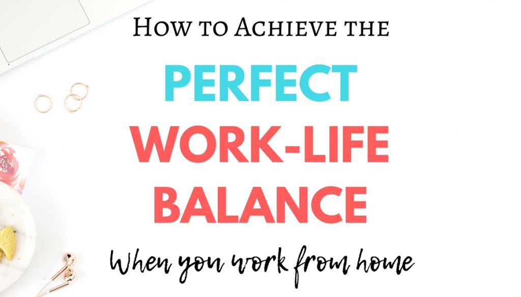 When you work outside the home, it's easy to get caught up in a cycle of working too hard. If it comes at the expense of spending time with your loved ones, is the money really worth it? Making the switch to working from home can seem like a good solution to this problem. However, finding a good work-life balance when you work from home isn't always easy. If you struggle with finding the right work-life balance for you, here are some tips to follow.