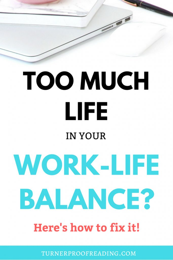 Too much life in your work-life balance now that you work from home? Make sure you're not getting carried away with the newfound freedom by using these tips to make sure that there's still some work in your work-life balance.