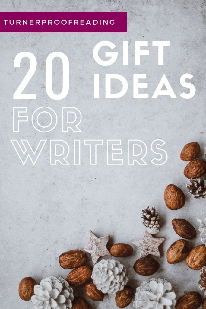 Searching for the perfect gift idea for a writer? These gifts will help them learn their craft, set up their business, and have fun with their writing!