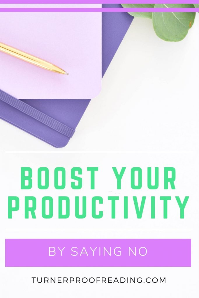 Say no more often and skyrocket your productivity