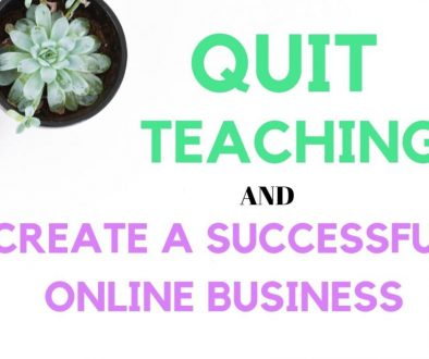 How Brittany quit teaching and created a successful online business