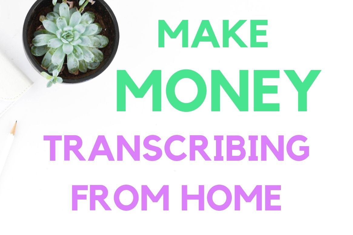 Katherine earns money transcribing from home. Here's how she got started!